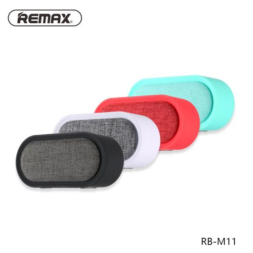 RB-M11   Parlante Bluetooth   3,5W   Negro   Aux/TF   Remax