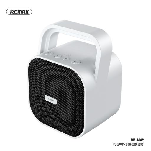 RB-M49 | Parlante Bluetooth | 15W | Blanco | Aux/USB/TF | Remax
