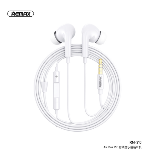 RM-310   Manos Libres   3,5mm   Blanco   AirPlus Pro   Remax
