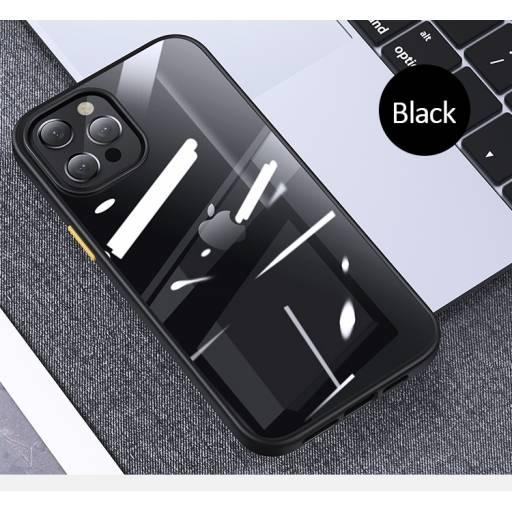 BH632 | Case | Apple iPhone 12 Pro | Negro | 6,1''/PC+TPU | Janz Series | USAMS