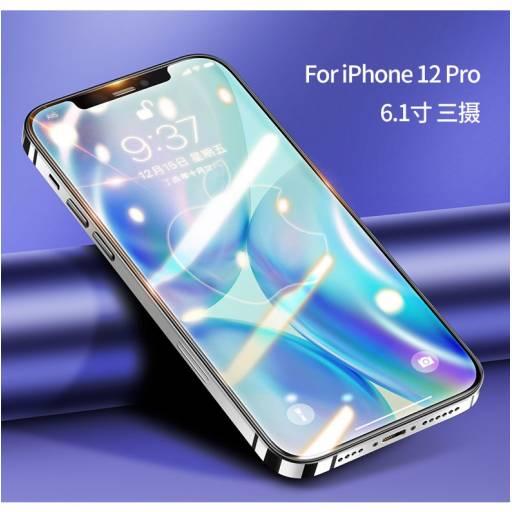 BH639   Vidrio Templado   Apple iPhone 12 Pro   6,1''/0,33mm   Negro   USAMS