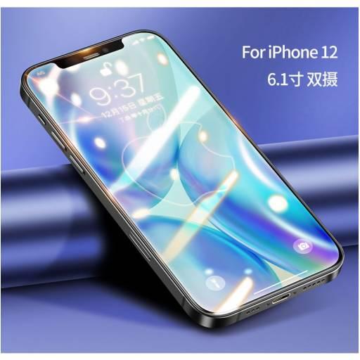 BH637   Vidrio Templado   Apple iPhone 12   6,1''/0,33mm   Negro   USAMS