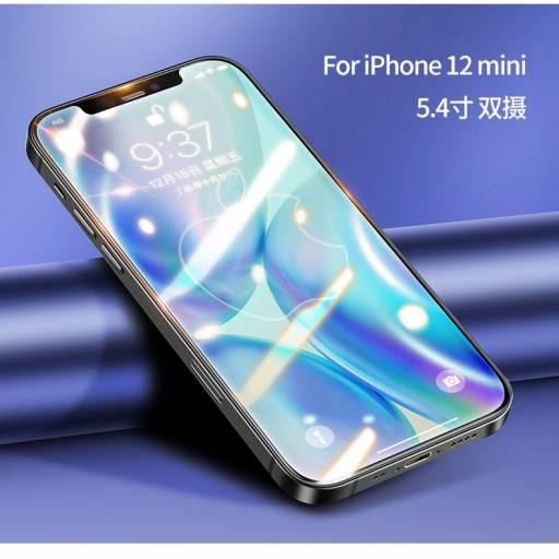 BH636 | Vidrio Templado | Apple iPhone 12 Mini | 5,4''/0,33mm | Negro | USAMS