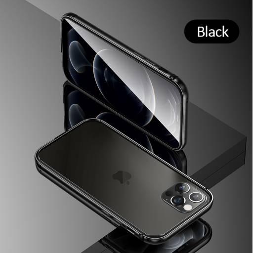 BH641 | Case | Apple iPhone 12 Pro | Black | 6,1''/Alumínio+TPU | Fellwell Series | USAMS