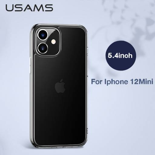 BH630 | Case | Apple iPhone 12 Pro | Transparente | 6,1''/Glass | Minni Series | USAMS