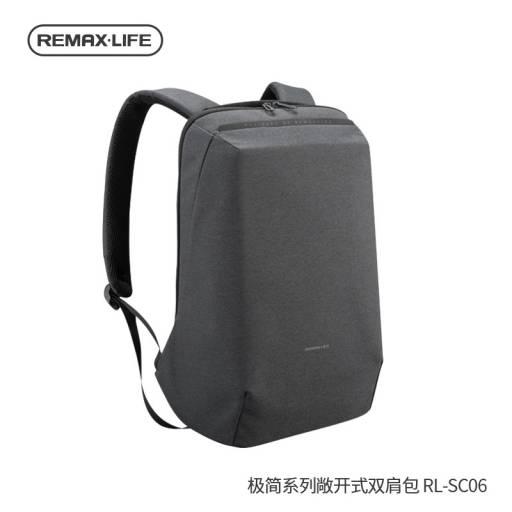 RL-SC06   Mochila p/ Notebook   Gris Oscuro   Remax