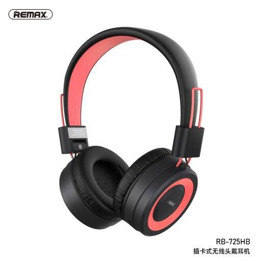 RB-725HB   Auricular Bluetooth   Rosado   TF   Remax