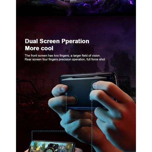Smart Gaming Touch Pad   iOS   Negro   Rock Space