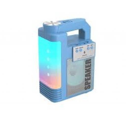 NF4070 | Parlante Bluetooth | Azul | FM/USB/SD//TWS | 6W | 1.800mAh | One+ | 8435606706827